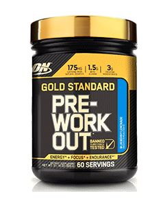 GOLD STANDARD PRE WORKOUT 600 г.  (Optimum Nutrition)