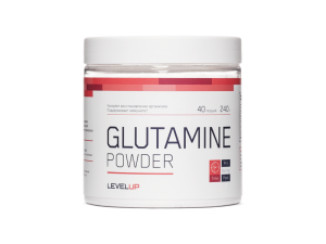 GLUTAMINE POWDER 240 г.  (Level Up)