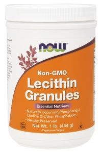 LECITHIN GRANULES NON-GE 454 г.  (NOW)