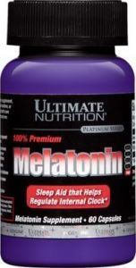 MELATONIN 60 кап.  (Ultimate Nutrition)
