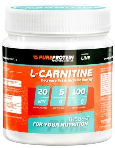 L-CARNITINE 100 г.  (Pureprotein)